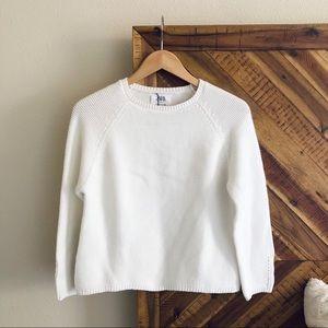 NWT ZARA Cotton Knit Sweater Size 11/12